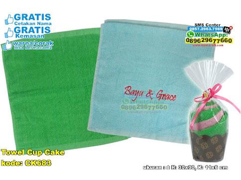 Towel Cup Cake