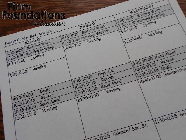 Teacher Lesson Plan Template Plan Time