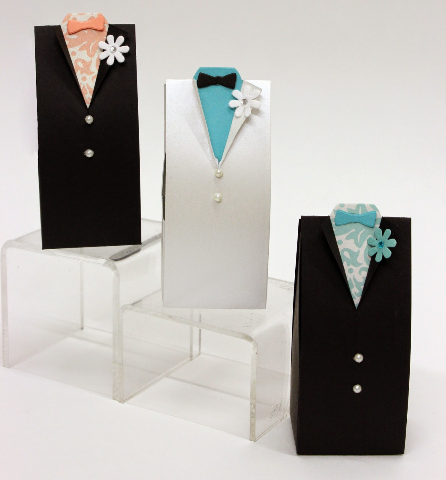 Groom Box Die Cut - great for wedding party favor!