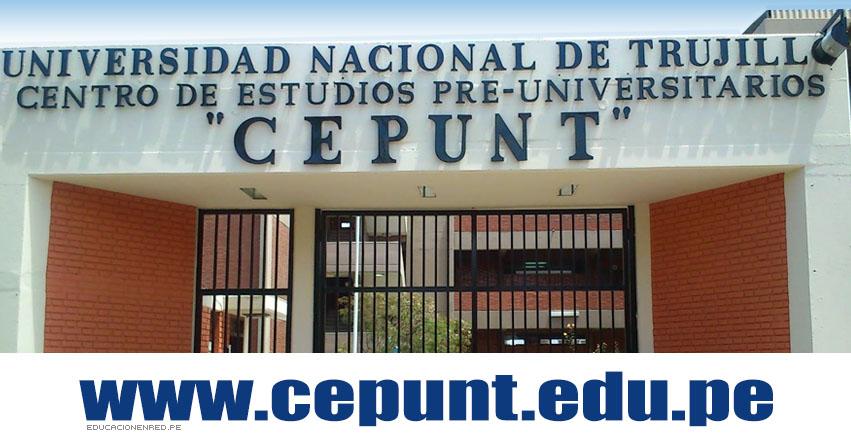 CEPUNT: Resultados Primer Examen (26 Noviembre) I Sumativo 2017 Centro de Estudios Preuniversitarios de la Universidad Nacional de Trujillo (UNT) www.cepunt.edu.pe