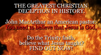 THE GREATEST CHRISTIAN DECEPTION IN HISTORY. John MacArthur an American pastor: You need to believe that Jesus is God.