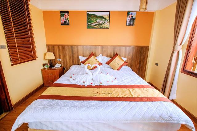 Phòng Giường đôi Heart of sapa hotel