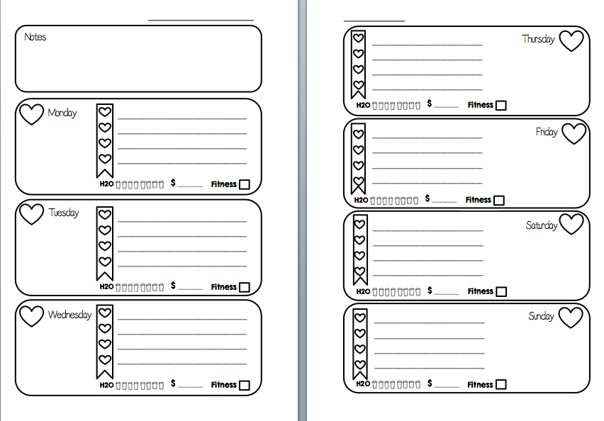 MsWenduhh Planning & Printable: Free Printable Inserts