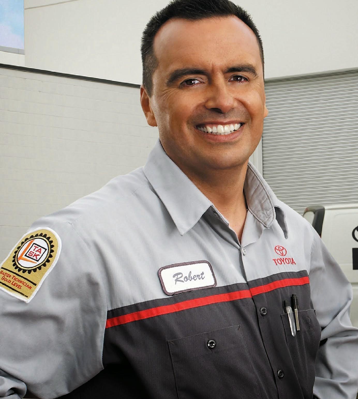 Toyota Tech Info Site: Toyota Technician Uniform