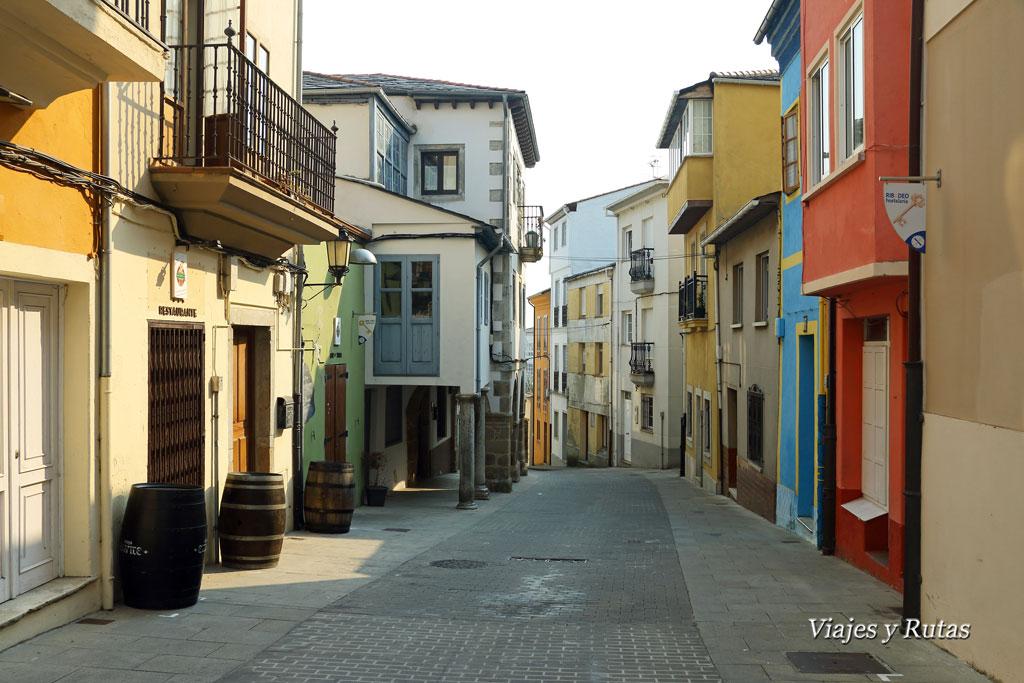 Calle Antonio Otero, Ribadeo
