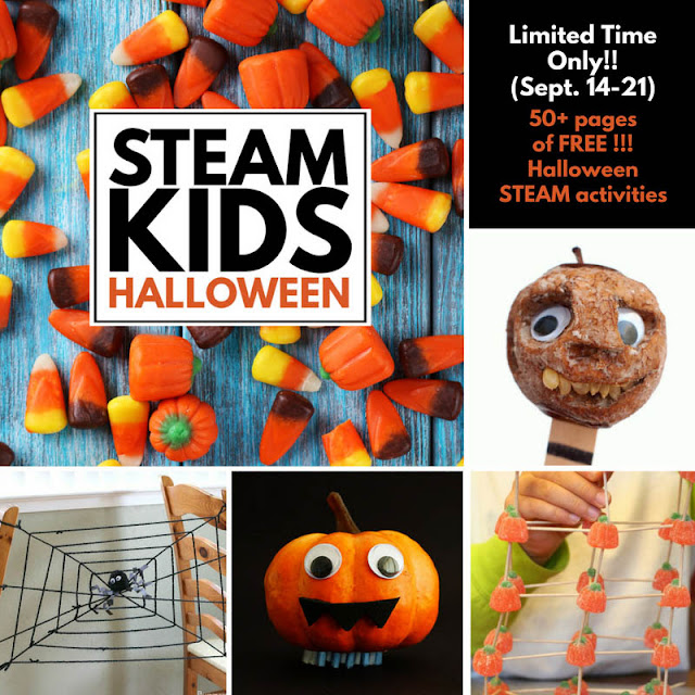Eclectic Red Barn: STEAM Halloween eBook