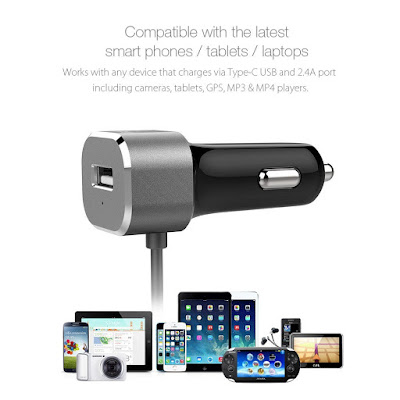USB Type C Car Charger by BlitzWolf