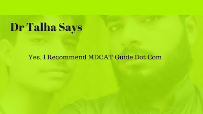 yes i recommend mdcatguide.com for study purpose and learning