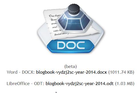 Créer un livre PDF de son blog Blogger BLOGBOOKER