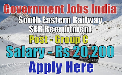 South Eastern Railway SER Recruitment 2017