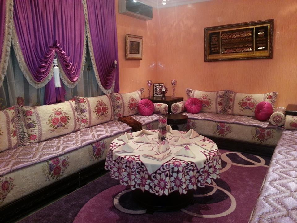 Salon marocain salon marocain traditionnel paris 2017 for Decoration salon marocain moderne 2016