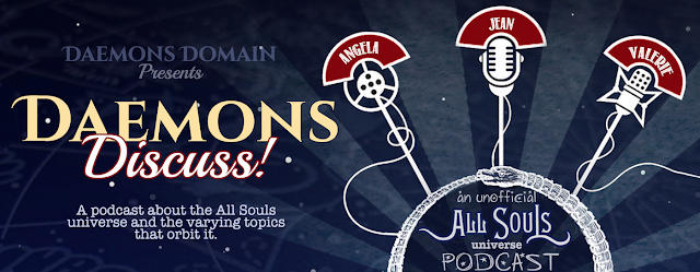 Daemons Discuss - an unoffical All Souls Universe Podcast, based on the All Souls Trilogy by Deborah Harkness - Subscribe to to the podcast!