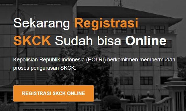 Sekarang Membuat SKCK Sudah bisa Online