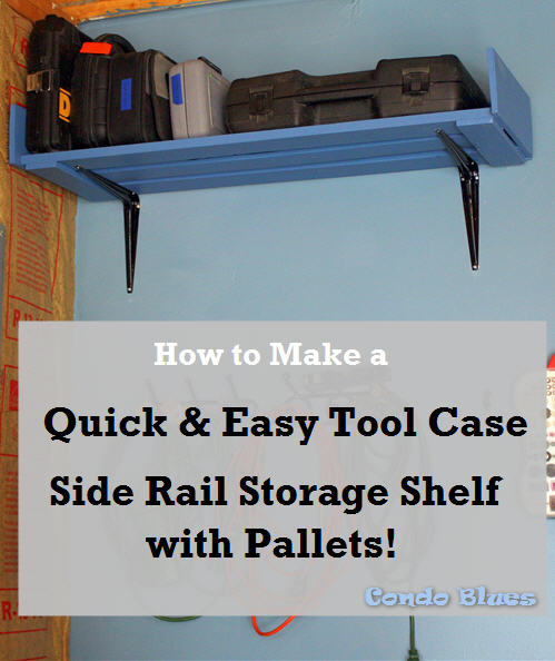 How to make power tool case storage