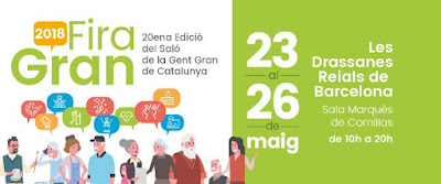 Cartell de la 20ena edició del Saló de la Gent Gran de Catalunya