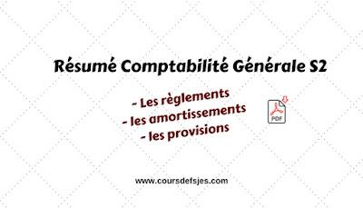Cours Résumé Comptabilité Générale S2
