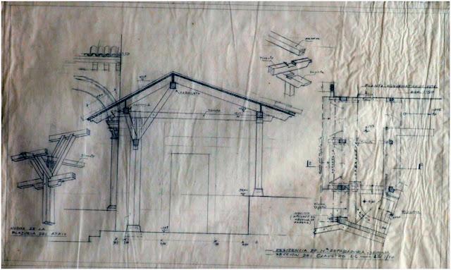 detalle claustro madera reparadoras