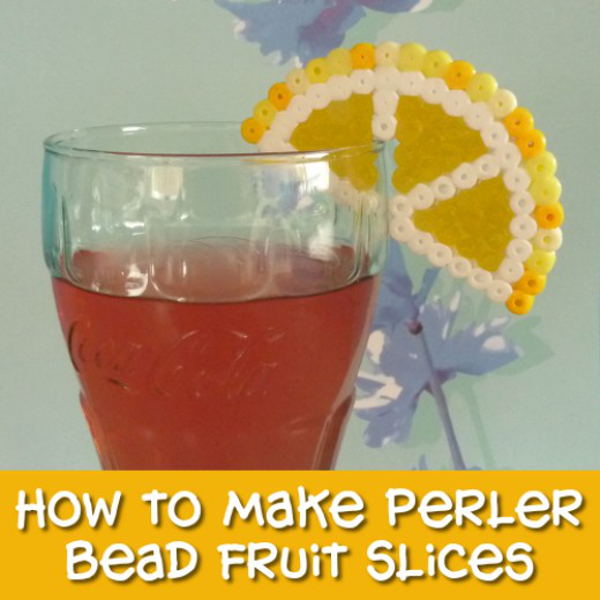 How to Make Perler Bead Fruit Slices Step by Step Photo Tutorial by CraftyMarie