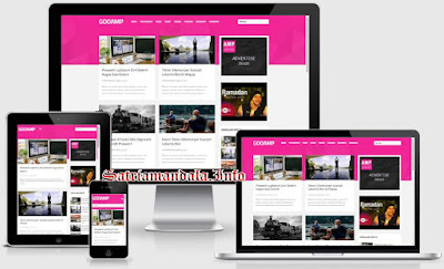 Gooamp Valid AMP Responsive Blogger Template
