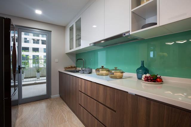 phòng bếp tại nhà mẫu chung cư rivera park nghĩa tân