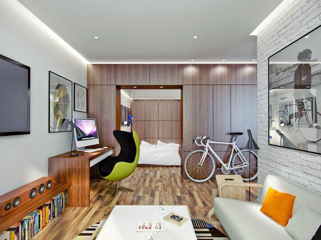 Apartamento decoração jovem. Blog Achados de Decoração