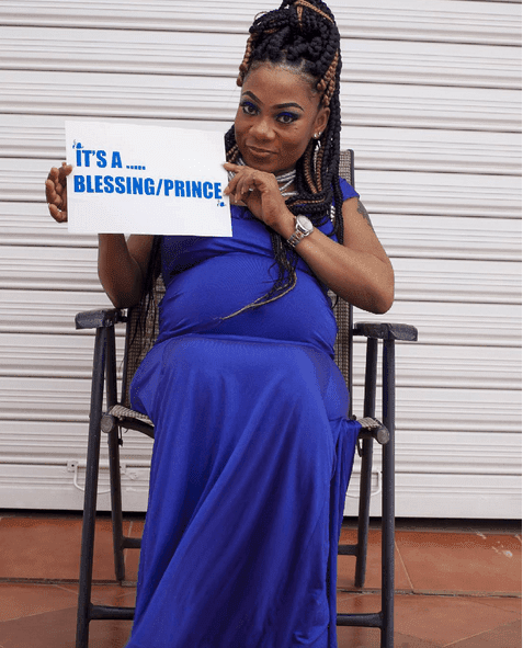 Actress Vicky Zugah Confirms Pregnancy Rumor + Reveals Gender Of Baby Photos