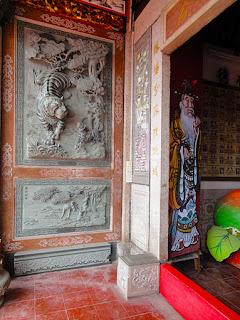 Beautiful temple entrance