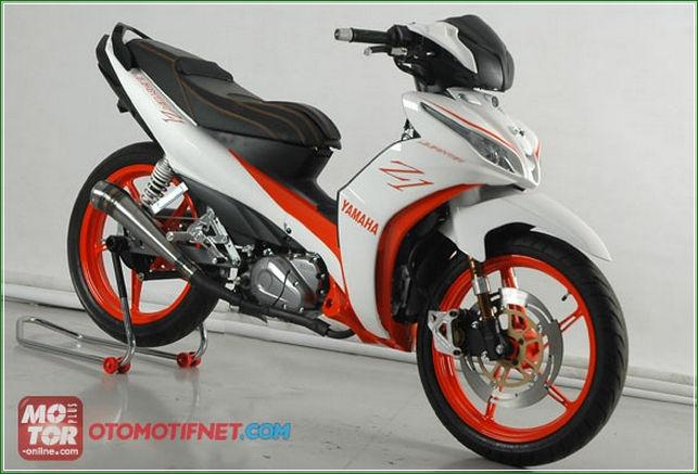 Keren 7 Modifikasi Yamaha All New Jupiter Z1 Injeksi