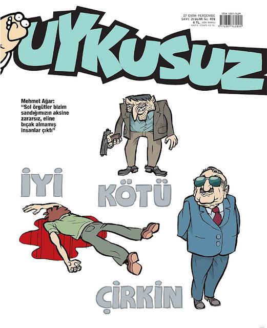 Uykusuz Dergisi | 27 Ekim 2016 Kapak Karikatürü
