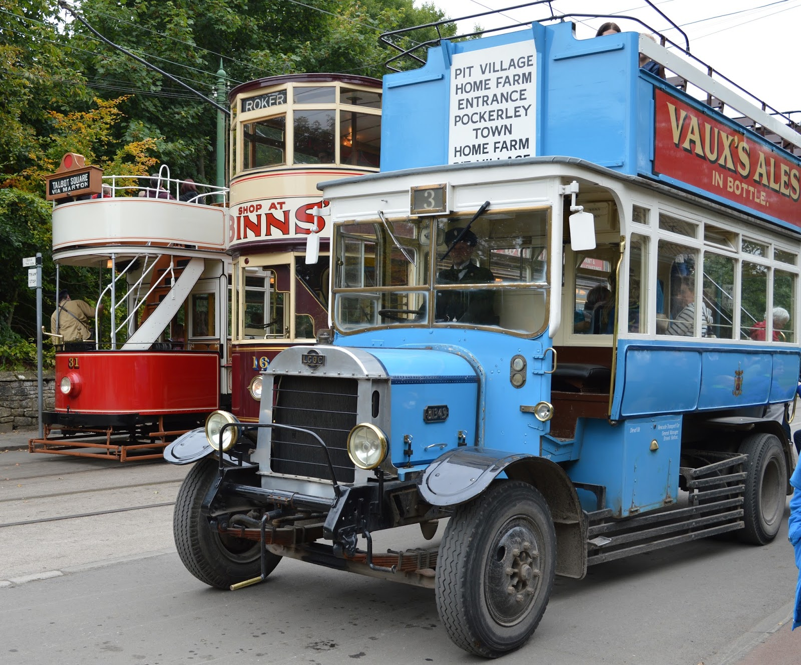 What's On for Kids & Families in Durham | February Half Term 2017 | A Guest Post by My Boys Club | Beamish Museum Trams