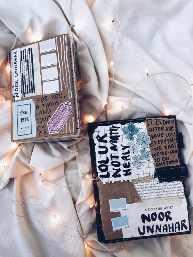 Best Of Art Journal December Glows Noor S Place A
