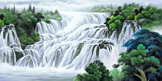 Flowing River Seven Horse Painting Are Symbols Of Prosperity Career Enhancement And Good Luck Some Even Use Pictures Endless Straight Paths