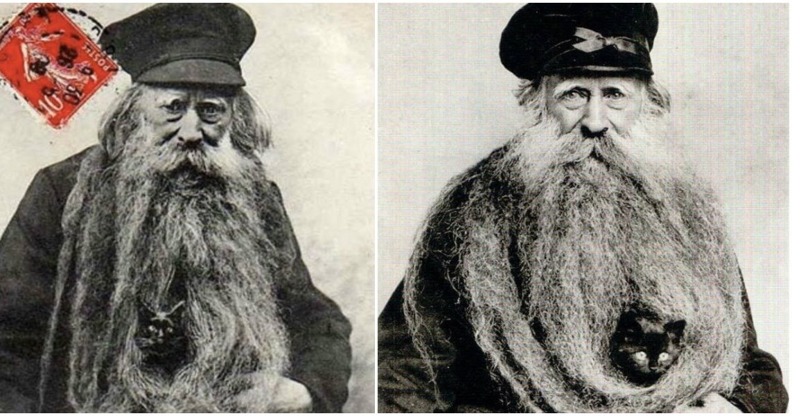 Amazing Portraits Of Louis Coulon And His 11 Foot Beard As