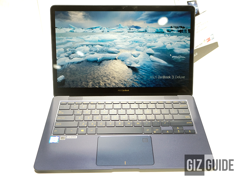 The beautiful ZenBook 3 Deluxe!