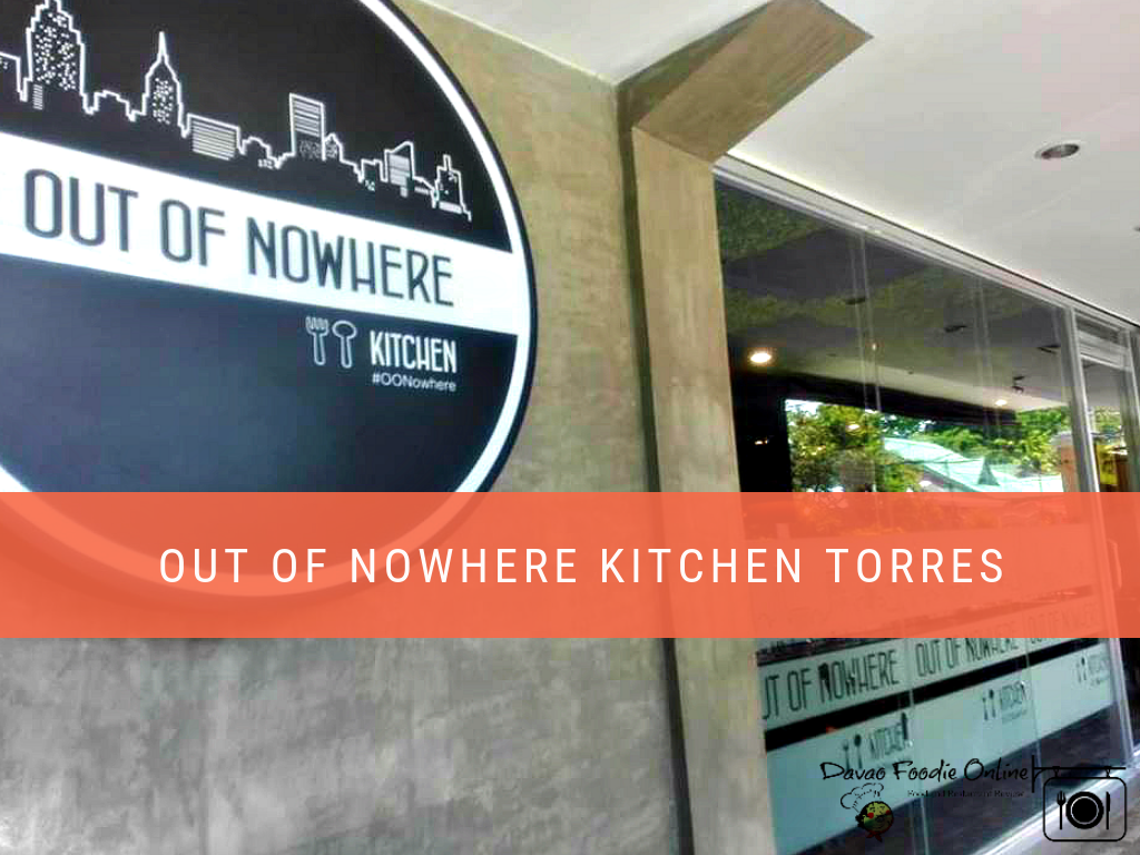 An Excellent Fusion Restaurant: Out of Nowhere Kitchen Torres #OONowhere #AGemNotHidden