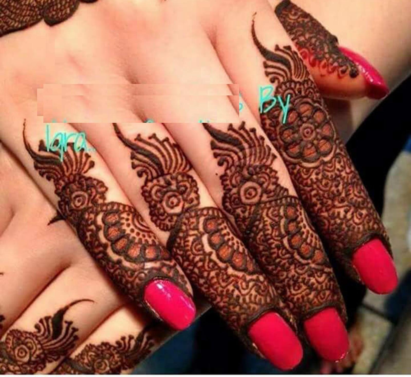 New Mehndi Designs 2019 Fingers Designs Fancy Fashion Points