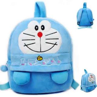 Tas Sekolah Doraemon Tampak Depan Maupun Belakang