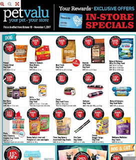 Pet valu flyer canada In Store Specials October 10 - November 1