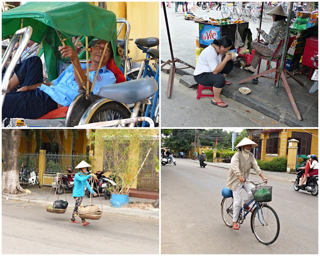 Street scenes in Hoi An