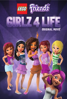 lego friends girlz 4 life dvd cover