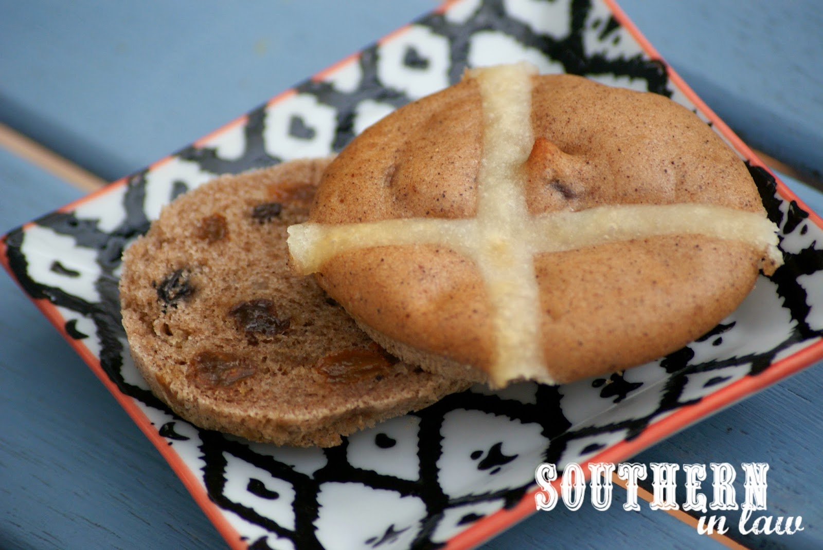 Gluten Free Hot Cross Buns from Choices Gluten Free Bakery