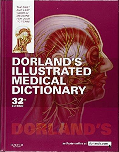 Dorland Từ điển minh họa Y học 32/e