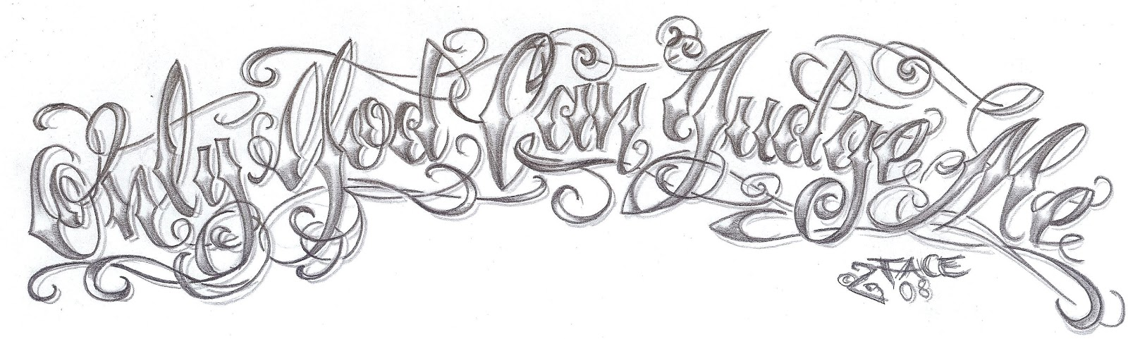 tattoo lettering design1