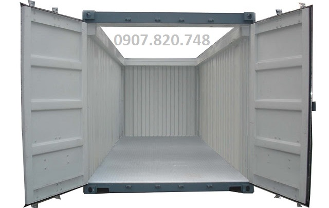 CONTAINER OPEN TOP 20 FEET, CONTAINER CẮT NÓC 20 FEET