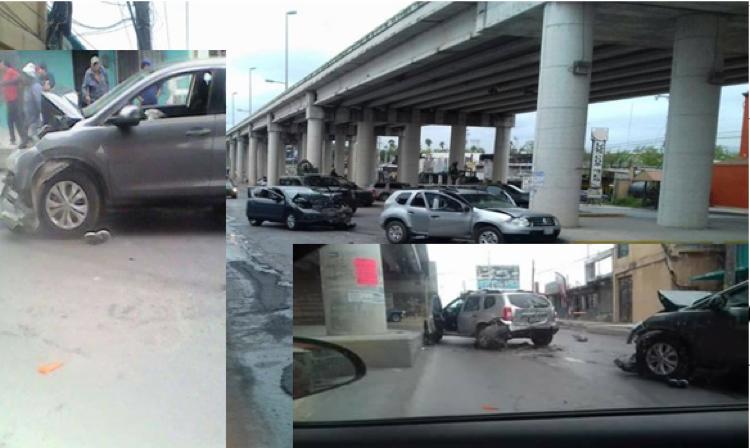 Tamaulipas: Persecucion y BALACERA en Reynosa, comando quita camioneta a familia(FOTOS)