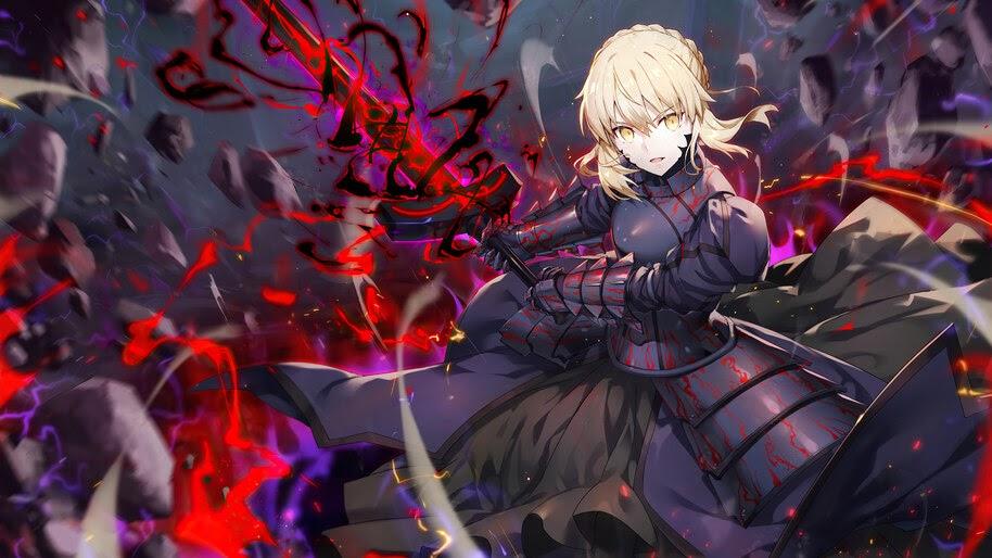 Saber Alter, Artoria Pendragon, Fate/Grand Order, 4K, #6.2291
