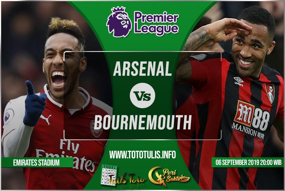 Prediksi Arsenal vs Bournemouth 06 Oktober 2019