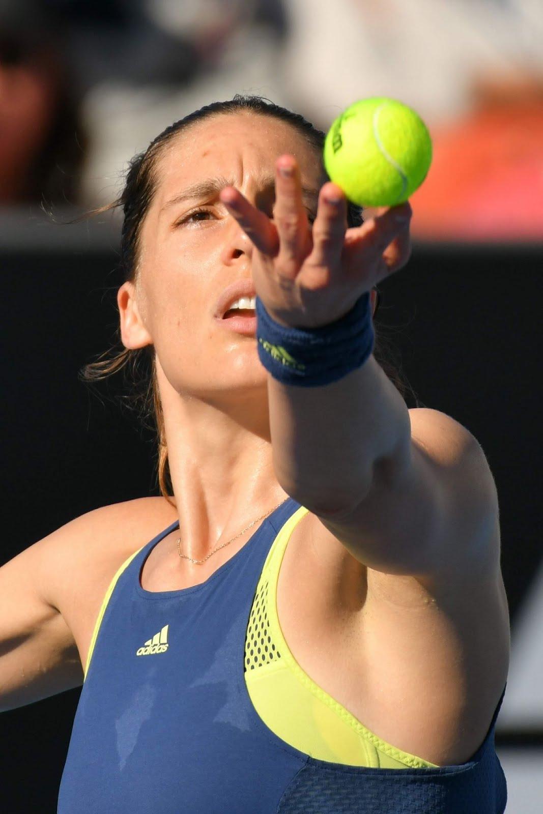 HD Photos of Andrea Petkovic Australian Open Tennis Tournament 2018 Melbourne