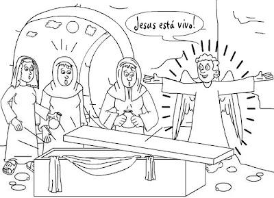 Desenhos para colorir evangelicos