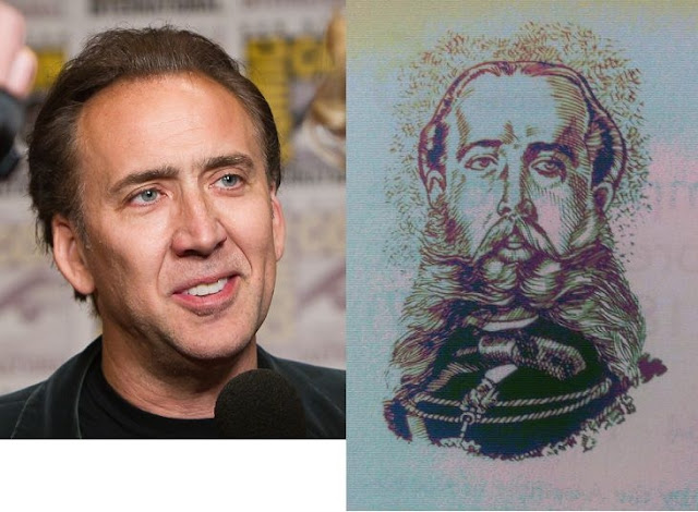 Nicolas Cage and Maximilian I, Emperor of Mexico
